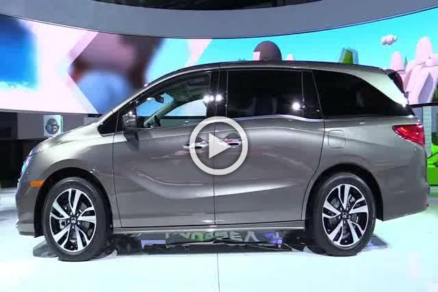2018 Honda Odyssey Exterior and Interior Walkaround Part I