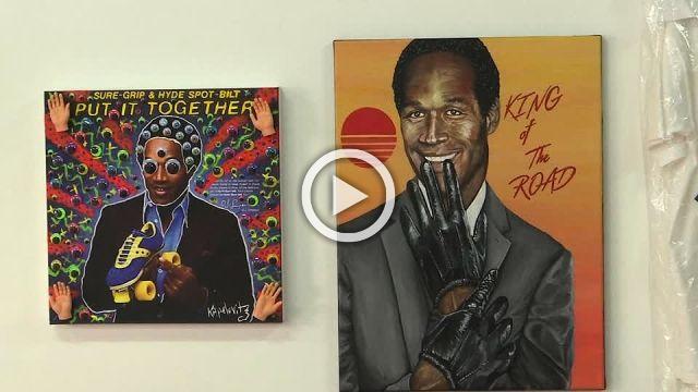 O.J. Simpson LA exhibit shows memorabilia as art