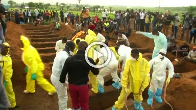 Mass burial held for victims of Sierra Leone mudslide