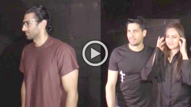 Aamir Hosts Special Premiere Of His Film Secret Superstar