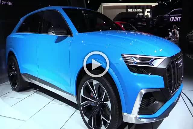 Audi Q8 Concept Exterior and Interior Walkaround Part III