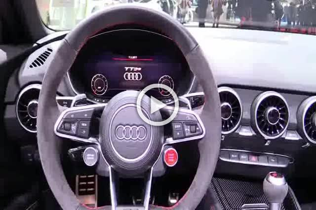 Audi TT RS Cabrio Exterior and Interior Walkaround Part I