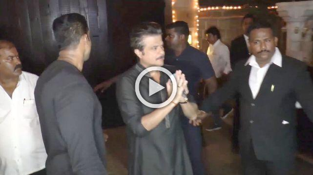 B'towners In Full Attendance At Anil Kapoor's Diwali Bash