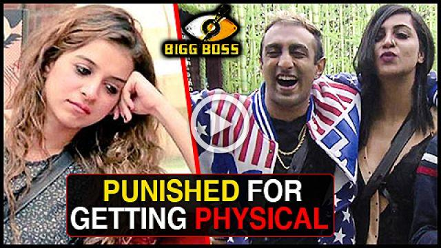 Benafsha PUNISHED For Getting PHYSICAL With Akash Bigg Boss 11