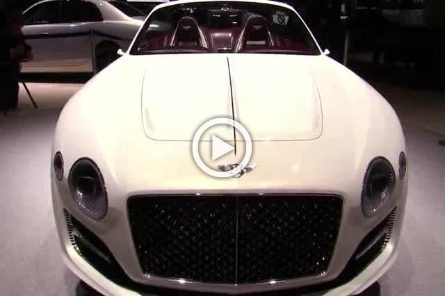 Bentley Exp 12 Concept  Walkaround