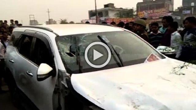 BJP Leader Shiv Kumar, Driver Shot Dead In Greater Noida