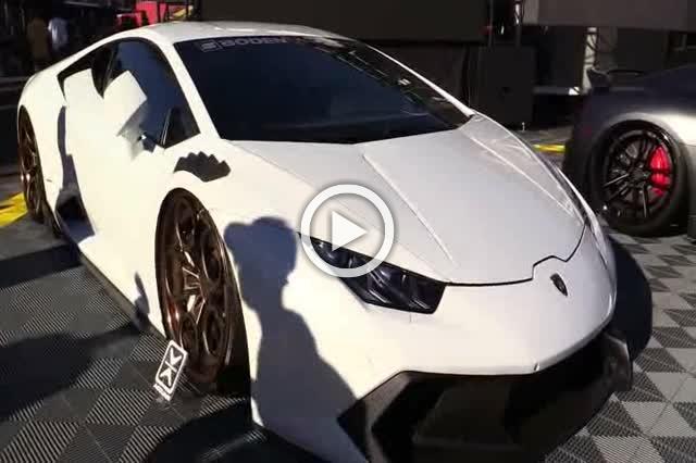 Lamborghini Huracan by Boden Autohaus Exterior Walkaround Part II
