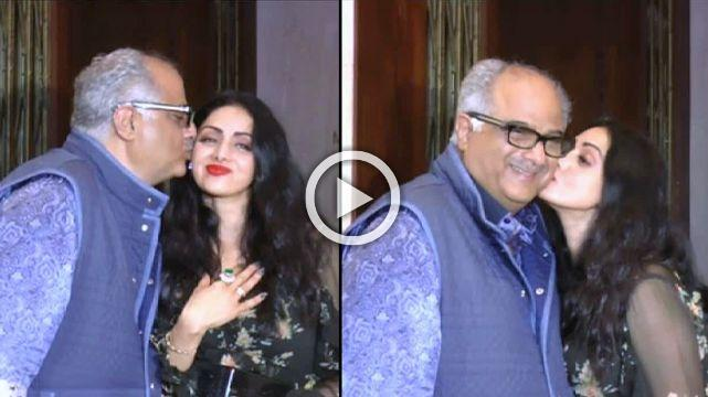 Manish Malhotra Hosts Star Studded Birthday Bash For Sridevi