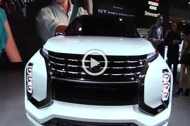 Mitsubishi GT Phev Concept Grand Tourer Exterior and Interior Walkaround Part I
