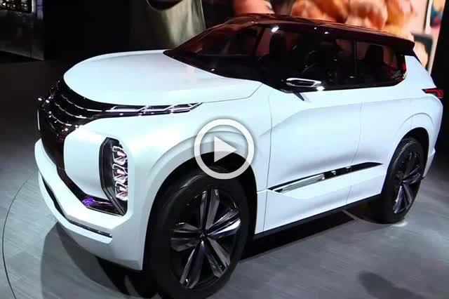 Mitsubishi GT Phev Concept Grand Tourer Exterior and Interior Walkaround Part II