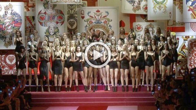 Dolce & Gabbana - Spring/Summer Show 2018 in Milan