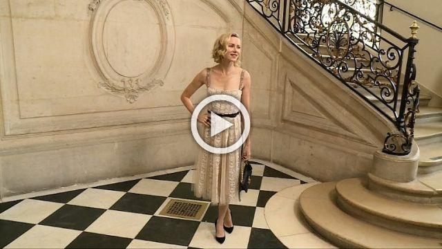 CHRISTIAN DIOR - Red carpet - Ready to wear show Women's Spring/Summer 2018 in Paris