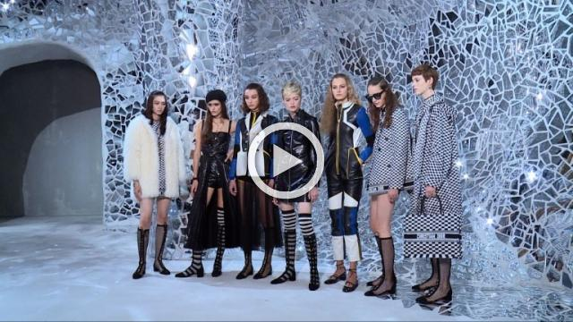 CHRISTIAN DIOR - Women's Ready to wear spring/Summer 2018 show Women in Paris (with interviews)