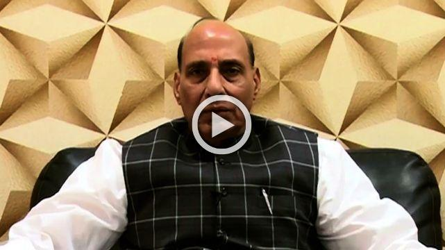 Rajnath Singh Appeals To Light One Diya In The Name Of Soldiers