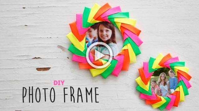 DIY Easy Photo Frame