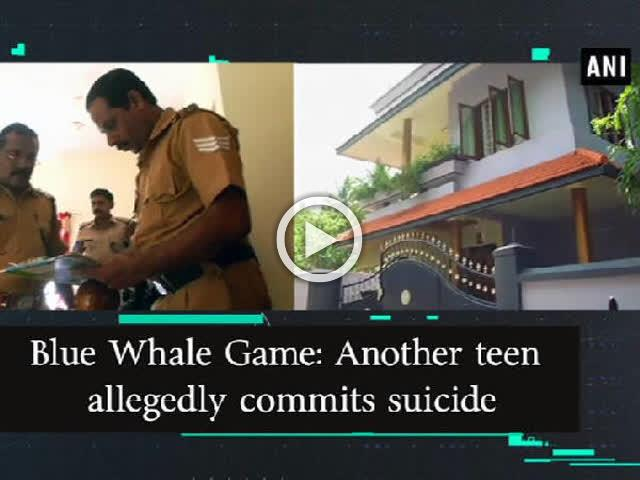 Blue Whale Game: Another teen allegedly commits suicide