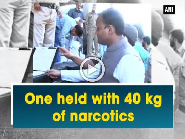 One held with 40 kg of narcotics
