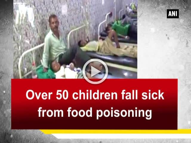 Over 50 children fall sick from food poisoning