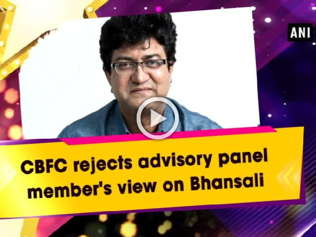CBFC rejects advisory panel member's view on Bhansali