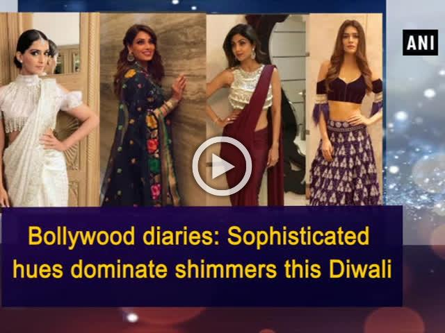Bollywood diaries: Sophisticated hues dominate shimmers this Diwali