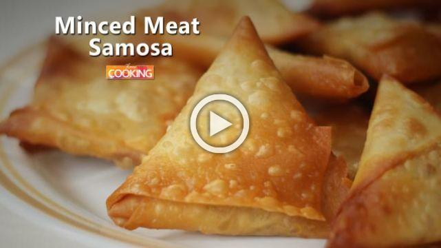 Minced meat Samosa | Ventuno Home Cooking
