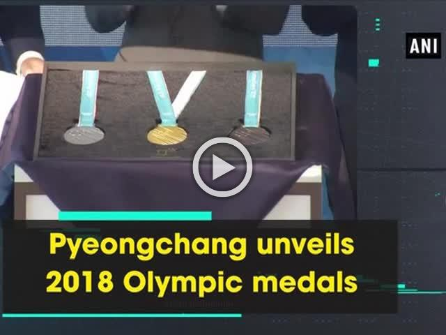 Pyeongchang unveils 2018 Olympic medals