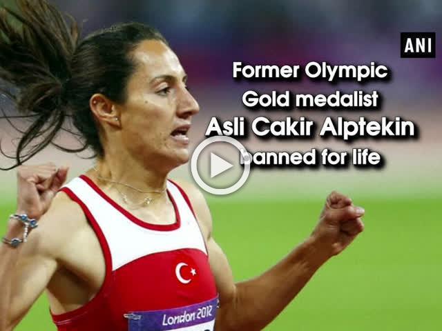 Former Olympic Gold medalist Asli Cakir Alptekin banned for life