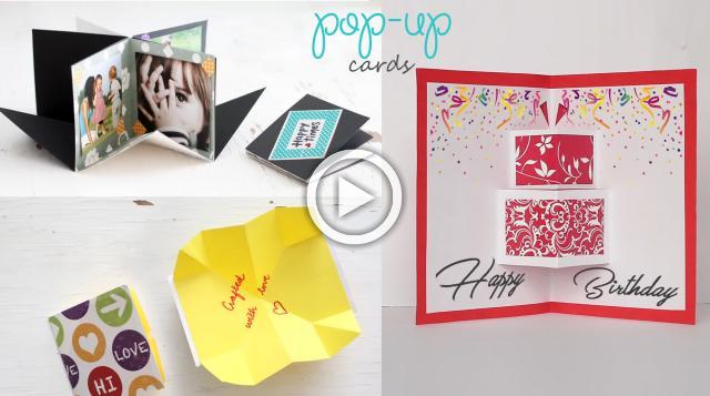 3 Easy Pop-up Cards