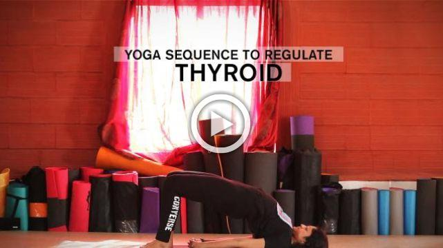 Yoga sequence to regulate Thyroid