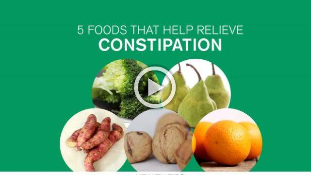 5 Foods That Help Relieve Constipation