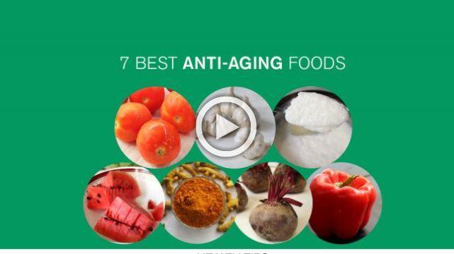 7 best Anti- Aging foods