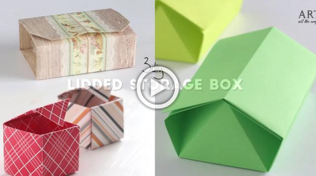 3 Easy Lidded Boxes