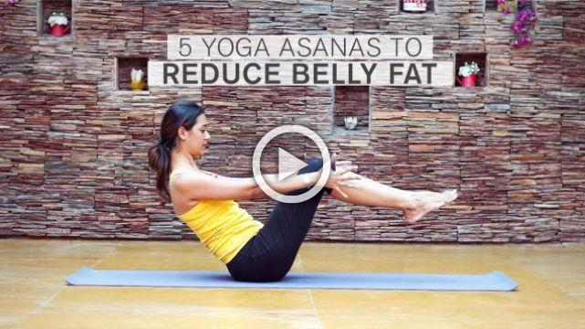 5 Yoga Asanas To Reduce Belly Fat