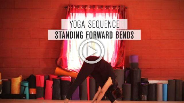 Yoga sequence - Standing Forward Bends