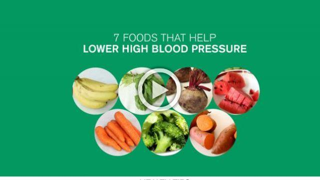 7 Foods That Help Lower High Blood Pressure