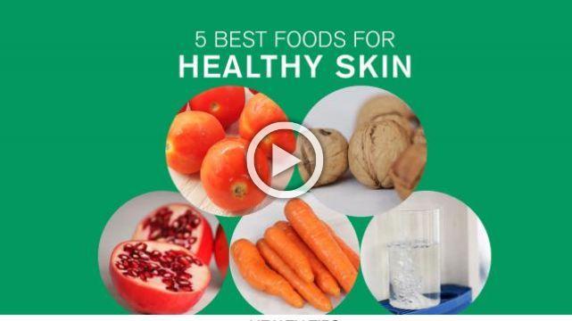 5 Best Foods for Healthy Skin