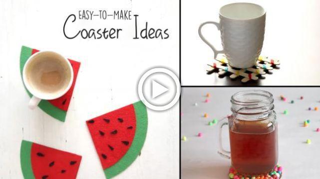 DIY Coaster Ideas