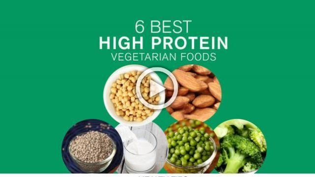 6 Best High Protein Vegetarian Foods